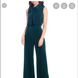 Antonio Melani sal at bow neck jumpsuit. NWT.